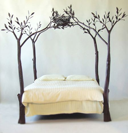 Tree bed frame. I love it