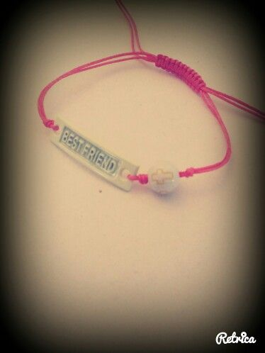 Handmade bracelet -best friend-