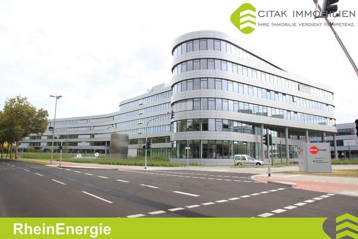 Rheinenergie Gebäude in Köln-Bilderstöckchen.