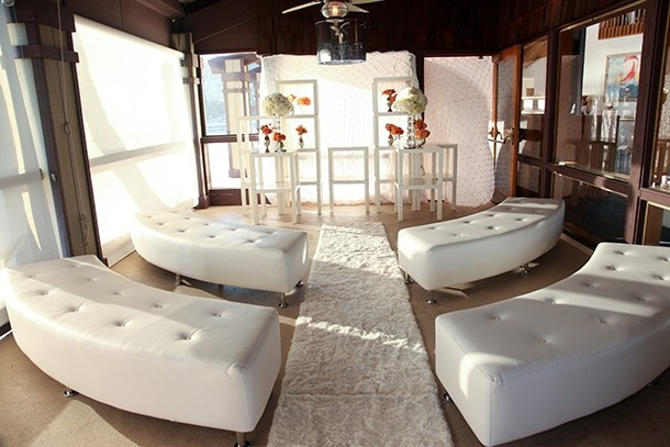 Comfy lounge furniture