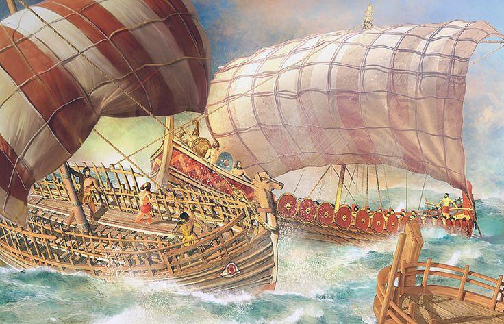 """""""Scontro navale nell'età del bronzo"""""""