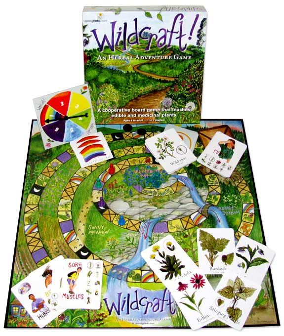 A Board Game That Could Save Your Life (learn about wild edibles without bribing your children!)