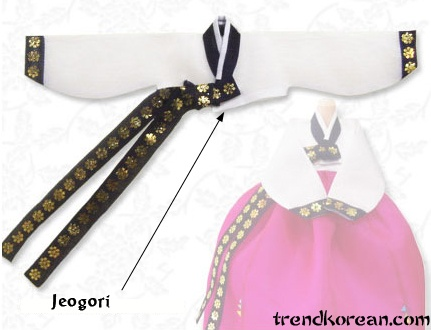 Jeogori - Jeogori is the basic upper garment of the hanbok, which has been worn by both men and women.