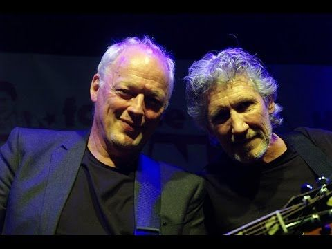 DAVID GILMOUR ▲ ROGER WATERS - Comfortably Numb - YouTube - Edited video from 2 different concerts