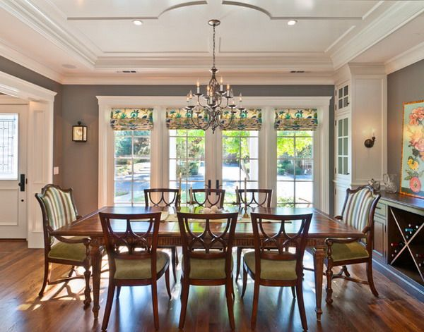 Dining Room Remodel Modern  With Picture Of Dining Room Painting New In Ideas