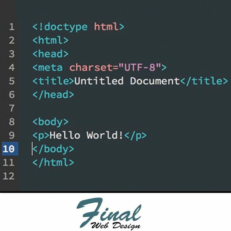 HTML is the foundation markup language that is used to create the World Wide Web.  HTML stand for HyperText Markup Language and uses tags to located content and files and then publishes them for viewing on the World Wide Web.  Find out more on our new blog about HTML at https://finalwebdesign.com/web-design-blog/what-is-html  #HTML #WebDesign #Internet #ComputerCoding #Code #WebDevelopment #HyperTextMarkupLanguage #FinalWebDesign