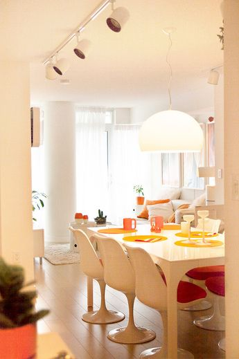 See more of this space-age modern condo on www.paintchip.weebly.com!