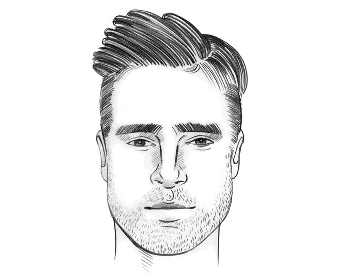 Hairstyles For Men According To Face Shape Oval Face