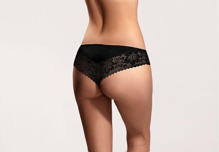 ARWENA black #lingerie #black #lace #intimate #sexy #koronka #bielizna #shorts #szorty