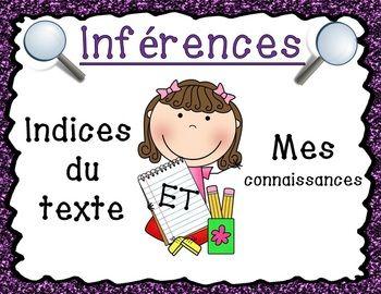 INFéRENCES (24 CARTES D'INFéRENCES) - TeachersPayTeachers.com