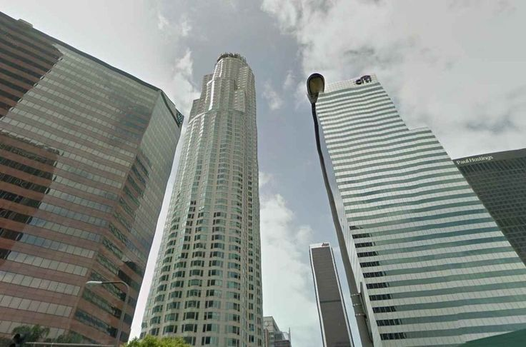 US Bank Tower Los Angeles US Traveling Via Google Maps - Us bank google maps