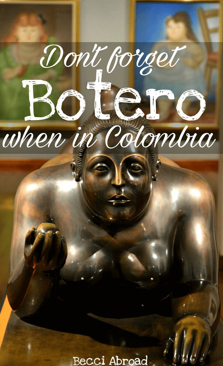 Colombia is the perfect choice for seeing Fernando Botero's art. Check out the main points for enjoying his art here!