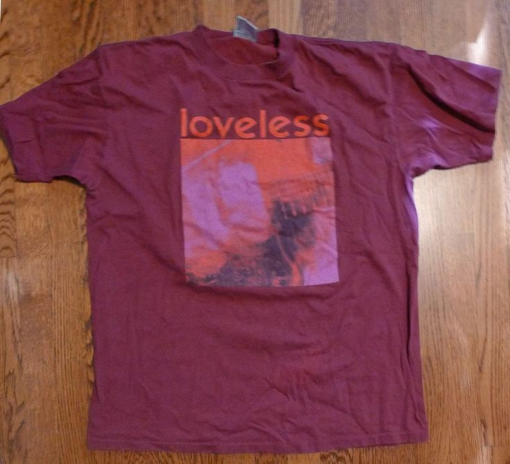 My Bloody Valentine Vintage Loveless Tour 1992 Concert T Shirt