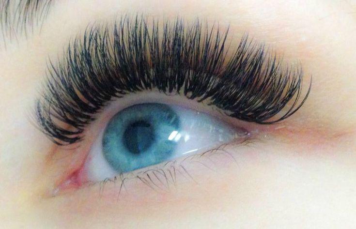 Semi-permanent eyelash extensions ,Russian volume (3d-6d ...