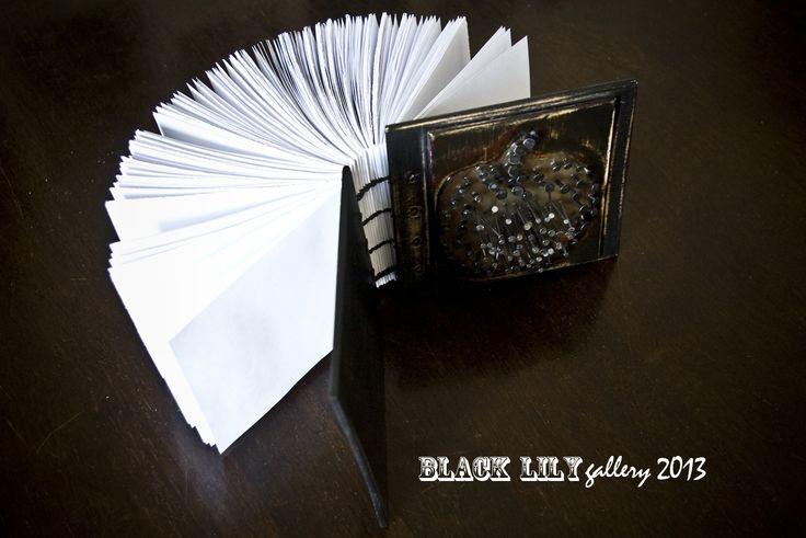 Hand made notebook.