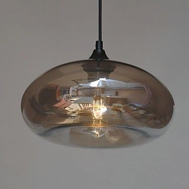 Modern Characteristic 1 Light Pendant With Transparent Shade – GBP £ 76.64