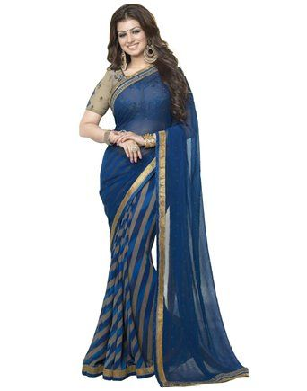 Saiveera Fashion New Gorgeous Blue georgette Daily Wear Saree_Priya19 Saiveera Fashion is a Popular brand in Women's Clothing. Saiveera Fashion is produce many types of Women's Clothes like Anarkalis Salwar Suit, Patialas Salwar Suit, Straight Salwar Suit, Palazzos, Sarees, Churidars, etc. For any Query Contact/Whatsapp on +91-8469103344.