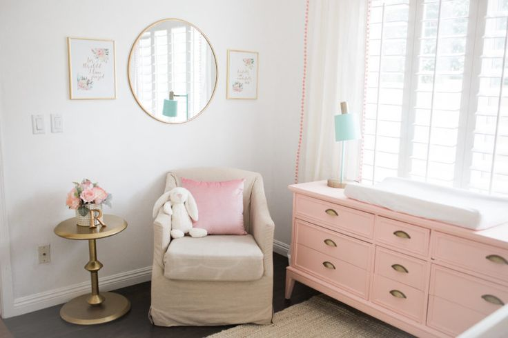 Small White Side Table For Nursery: 25+ Best Ideas About Pink Dresser On Pinterest
