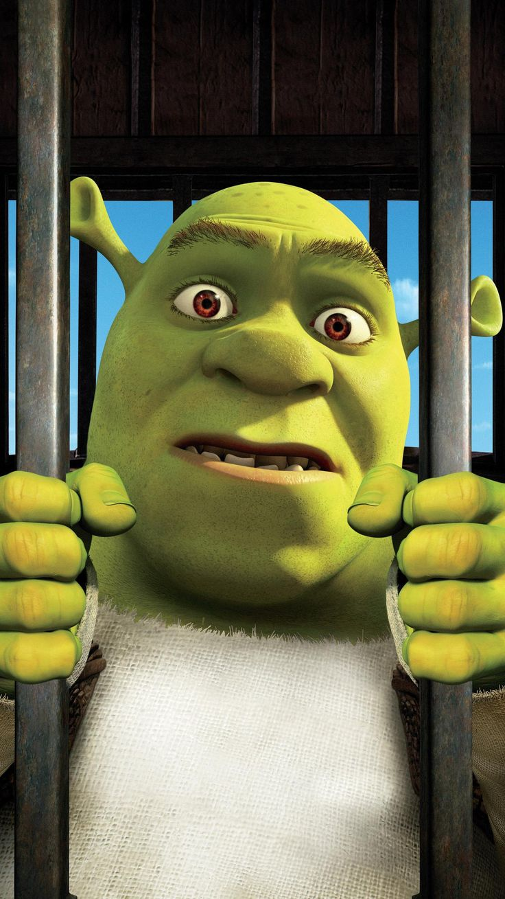 A bored and domesticated Shrek pacts with deal-maker Rumpelstiltskin to get back to feeling like a real ogre again, but when he's duped and sent to a. Movie Wallpapers, Cute Wallpapers, Iphone Wallpapers, Shrek Dreamworks, Dreamworks Animation, Pok, Free Poster Printables, Cool Posters, Movie Posters