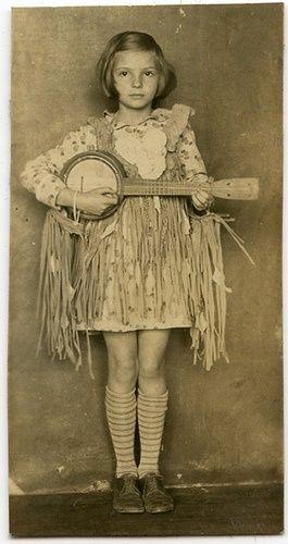 banjo girl.