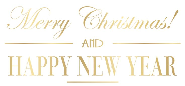 Merry Christmas and Happy New Year PNG Clip Art Image | Gallery Yopriceville - High-Quality Images and Transparent PNG Free Clipart