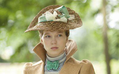 Scarica sfondi lea seydoux, l'attrice francese, diario di una cameriera, 2015, film