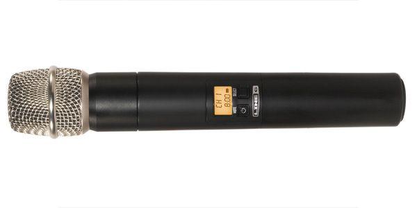 Line 6 Wireless Microphone System, 2.4gHz, 10 mics in 1 (XD-V75)