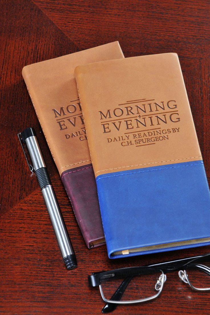 Spurgeon's Morning and Evening Devotional-Choice of 2 colors