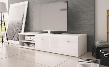 299zł Biała Szafka RTV Loft / White TV Table Loft http://internum.pl/p/197/6668/szafka-rtv-loft