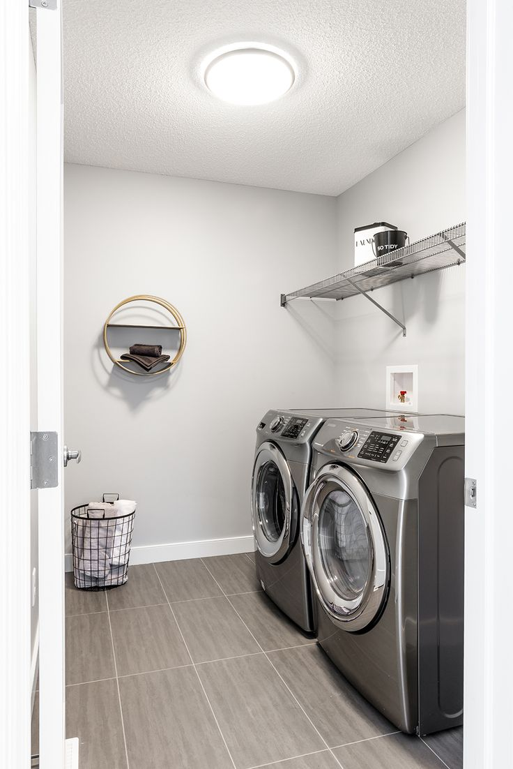 How convenient to have upper floor laundry!?