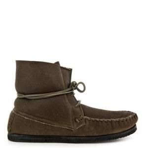 60% off Isabel Marant - Suede Moccasin Ankle Boots Eve Brown - $186.00