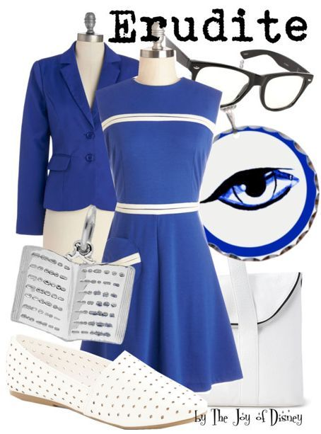 Outfit inspired by the Erudite faction of the book-to-movie Divergent!