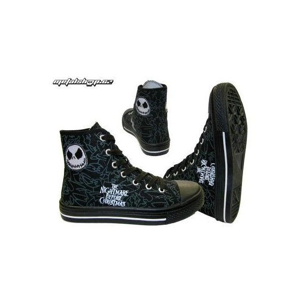 boty sneaker lm005 the nightmare before christmas - 59037-005 -... ❤ liked on Polyvore