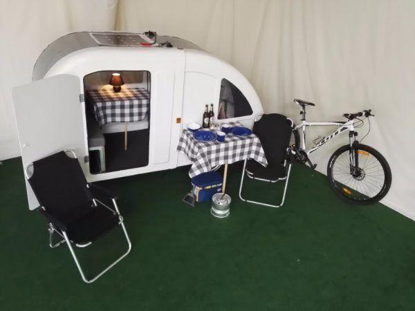En rigtig campingvogn… | CYKELPORTALEN