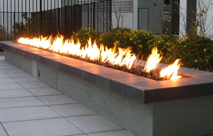 Gallery Of Custom Fire Features Fire By Design Remote