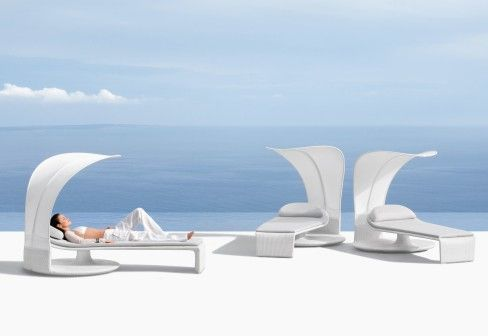 DEDON: SUMMER CLOUD beach chair