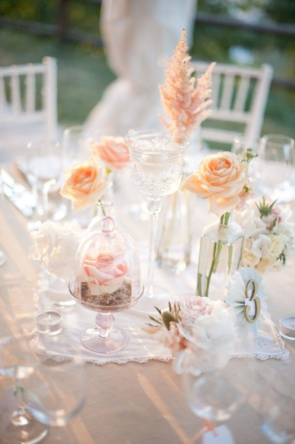 Italy Wedding in Peach and Blush