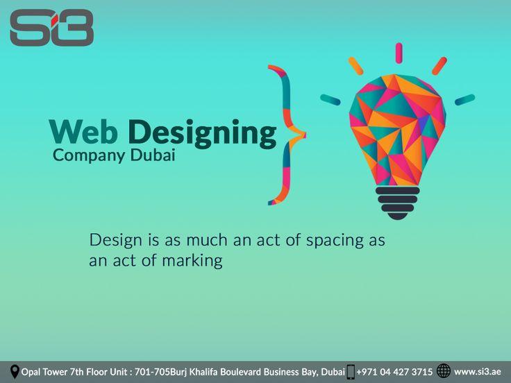 Web Design Agency Dubai visit si3 .ae
