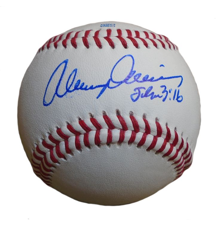 Alvin Davis Autographed Rawlings ROLB Leather Baseball, Proof Photo