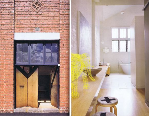 warehouse lust: Conversion of a 1920s Melbourne warehouse by interior designer Susie Cohen of Made by Cohen.