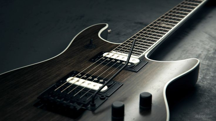 Details Of Six-string Electric Guitar. Rendered with V-Ray RT GPU in Autodesk 3ds max. Guitar from Studio Dabarti. Selection of clips from February 2016. Our complete RF portfolio you can find here: www.shutterstock.com www.dissolve.com www.pond5.com More info: dabarti.com/royalty-free-cgi-stocks/ facebook.com/DabartiCGI instagram.com/dabarti_cgi/