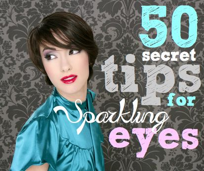 Cheap makeup ideas are handy to a girl on a budget! Learn 50 secret tips for achieving sparkling eyes on a budget. Cheap ways to feel prettier!