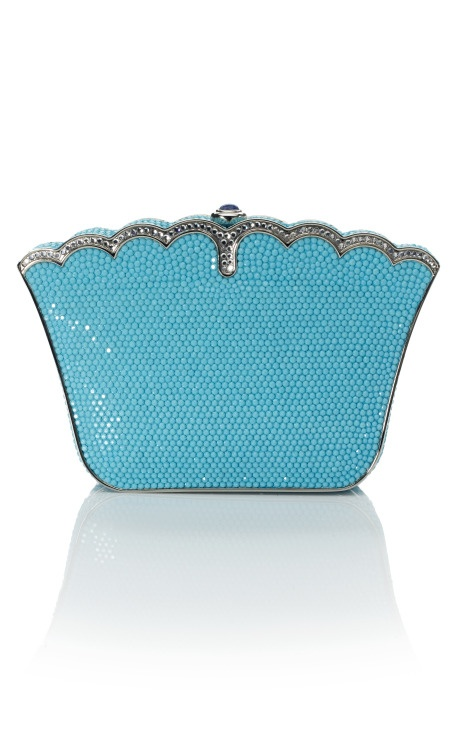 judith leiber ♥: Blue Clutches, Fashion Bags, Tiffany Blue, Handbags Pocketbook Pur, Judith Lieber, Swarovski Crystals, Judith Leiber, Leiber Handbags, Vintage Turquoise