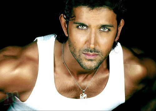 Hrithik Roshan - his eyes are like, wow...
