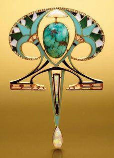 Georges Fouquet pendant c. 1910 - unique jewelry