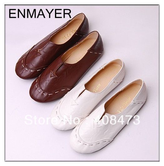 Aliexpress.com : Buy Free Shipping 2013 Most Popular Portable Casual Shoes  Charming Flat Shoes For Women Flats plus size 34 43 from Reliable flats suppliers on ENMAYER CO., LIMITED $12.49 - 15.49