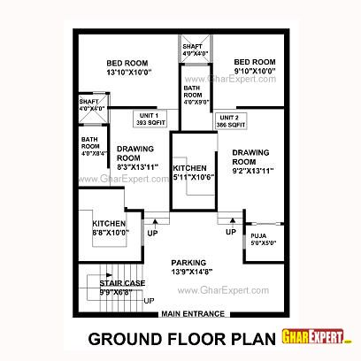 Plan For 30 Feet By 30 Feet Plot  Plot Size 100 Square Yards  Plan Code 1305 as well Bedroom Feng Shui moreover Index together with House Plans Uk 4 Bedrooms besides 12x24 Cabin Floor Plans. on vastu house plans