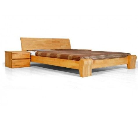 1000 id es propos de lit bois massif sur pinterest lit enfant cabane li - Lit adulte bois massif ...