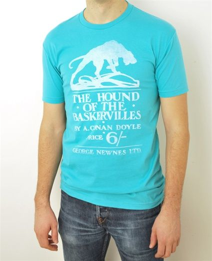 Classic Book Cover Tee Shirts : The hound of baskervilles book cover t shirt