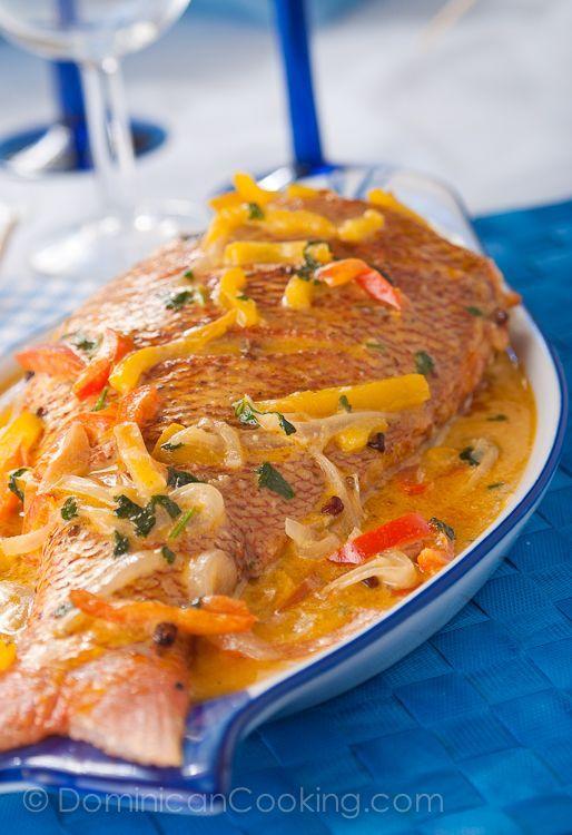 dominican food | Pescado con coco | Dominican Food